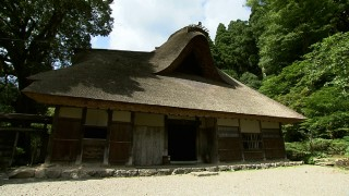 福井県内最古の民家・坪川家住宅