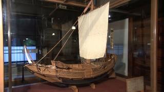 北前船・八幡丸の模型