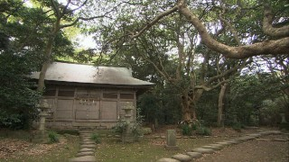 雄島に鎮座する大湊神社