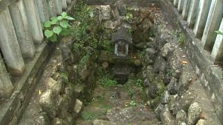 千代鶴国安が使っていたといわれる千代鶴の池