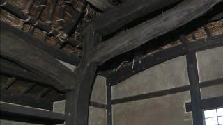 二股に分かれた材木を使い効率よく屋根を支える又木の柱