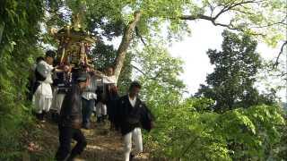 大瀧神社・岡太神社の春祭り・御神体を里に遷す「お下り」